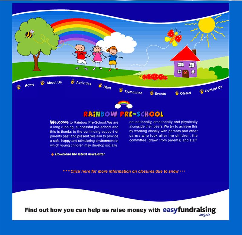 Rainbow Website 1